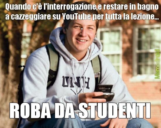 studenti - meme