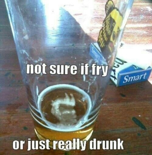 i think its the latter... - meme