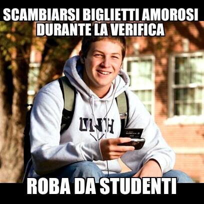 love da studenti - meme