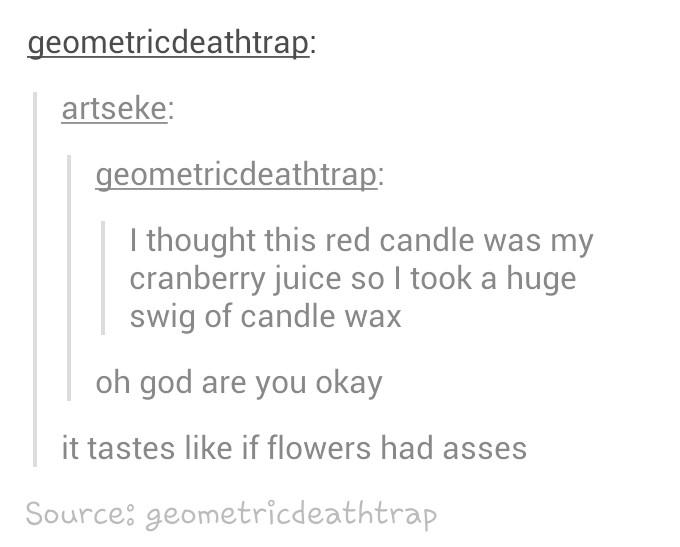 Do flowers have asses? - meme