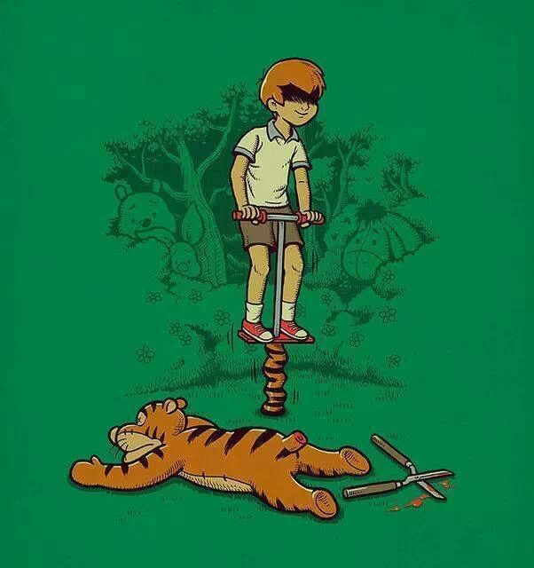 Tiger dead - meme