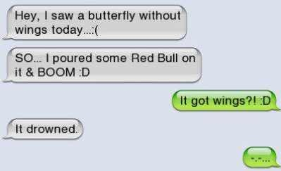 Red Bull doesn't always give you wings... - meme
