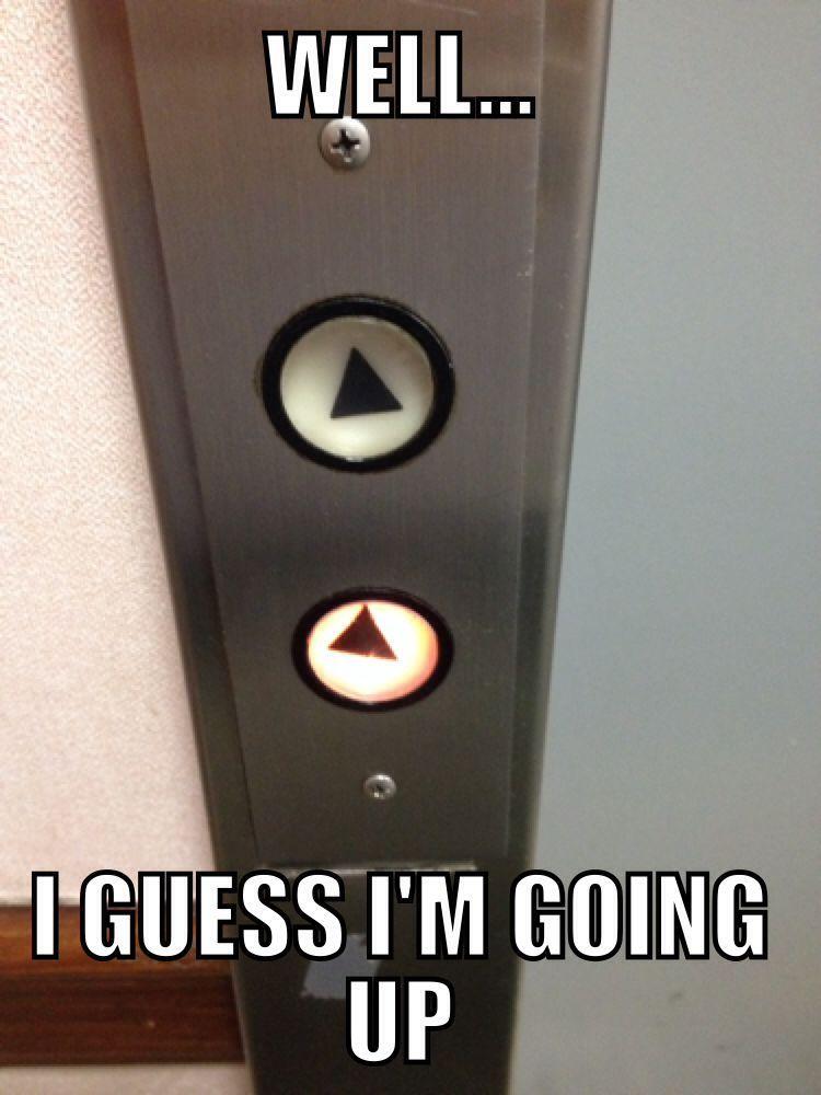 Going up - meme