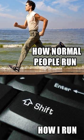 Lets run!!!  - meme
