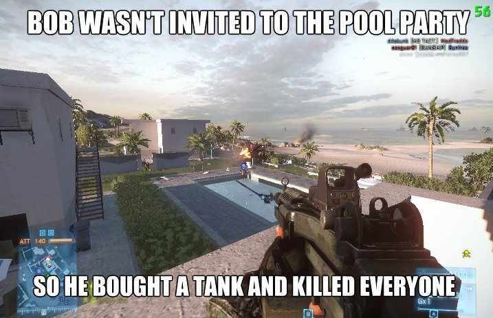 Well he deserved to be invited - meme