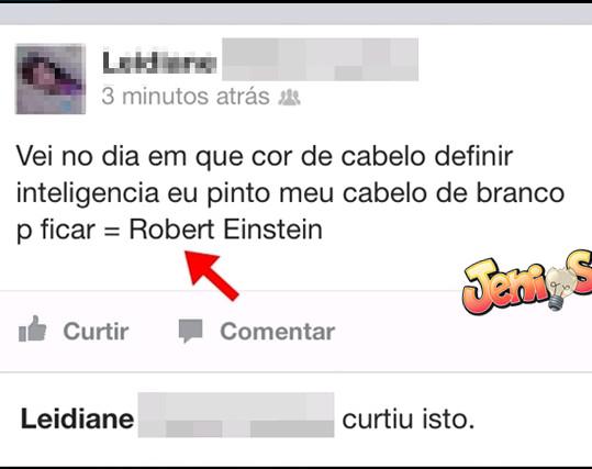 Robert Einstein Poeta - meme