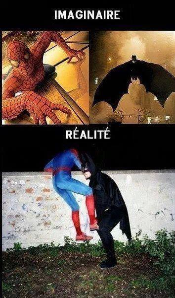 espérance contre réalité - meme
