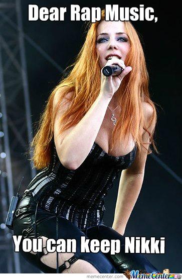 Simone Simons from Epica - meme