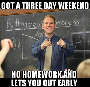 awsome teacher - meme