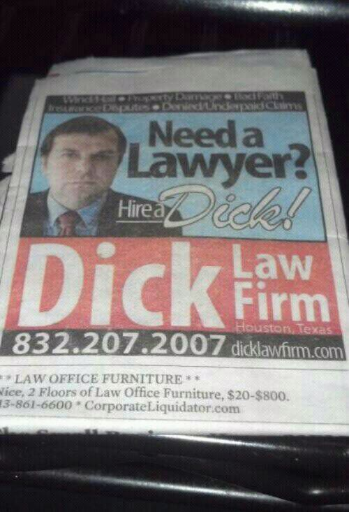 Dick for hire