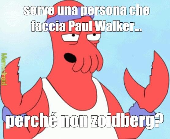 Paul zoidberg - meme