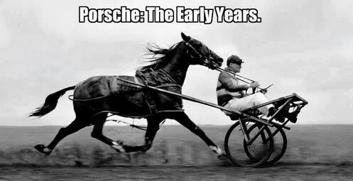 Early days of chariots and garage doors