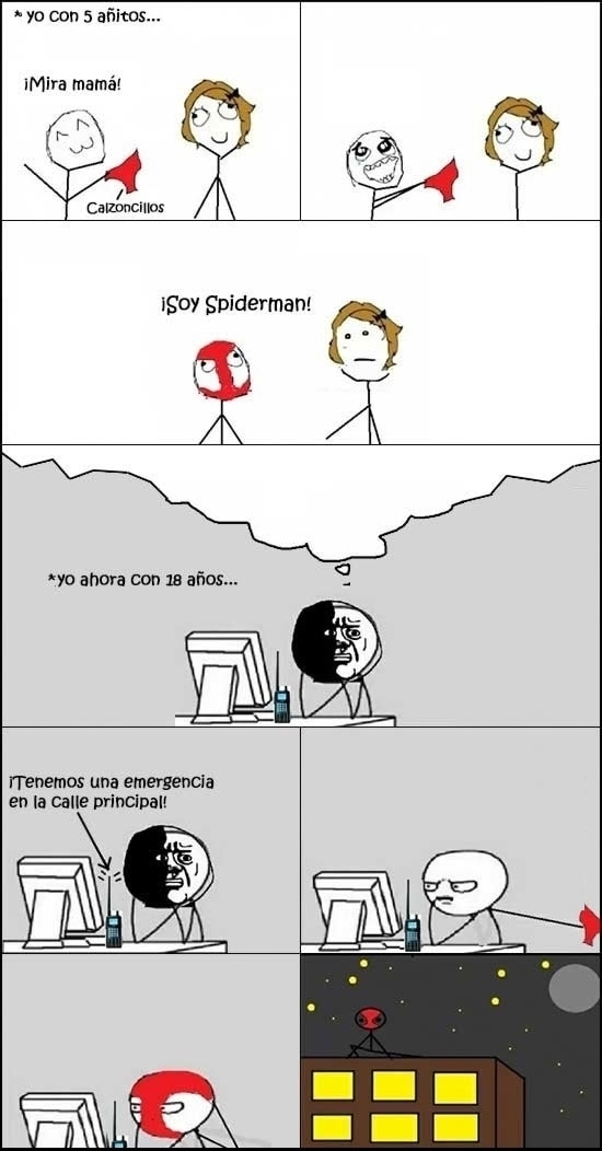 Spider man por siempre - meme