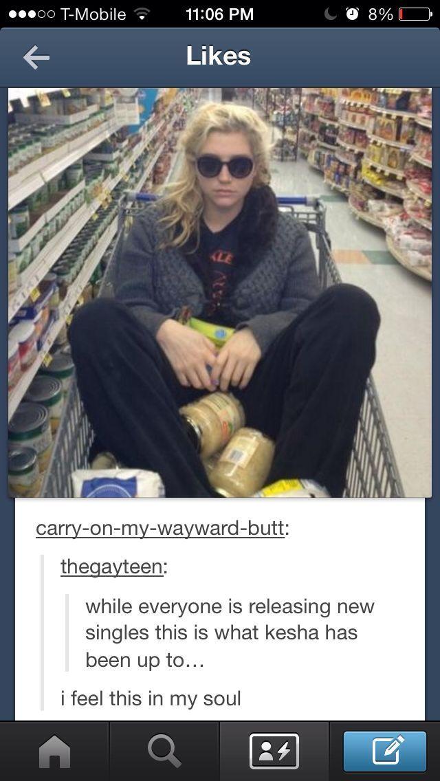Yup. That's Kesha  - meme