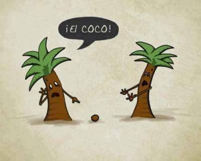 El coco nooo!! - meme