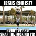 cheerleading is hard