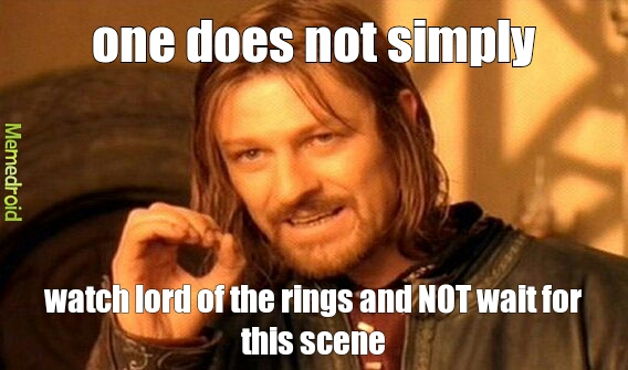 lord of the rings - meme