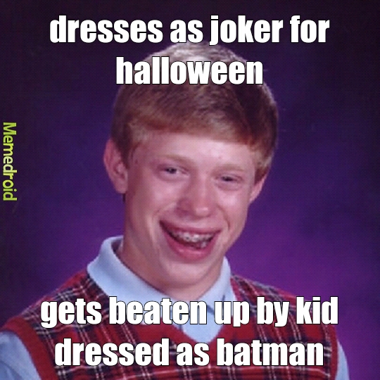 Bad halloween meme