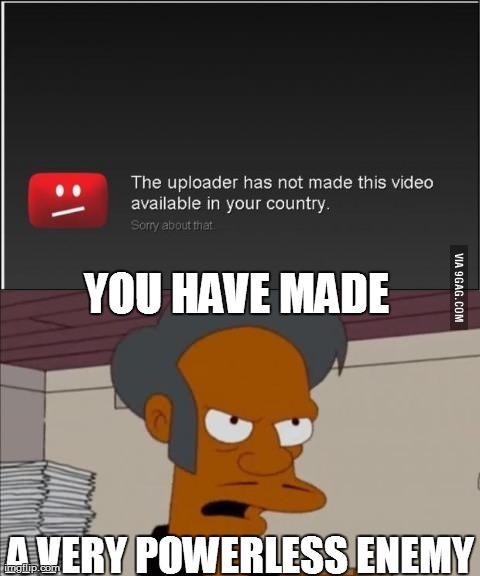 apu is not happy - meme