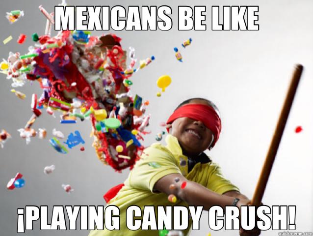 the original candy crush - meme