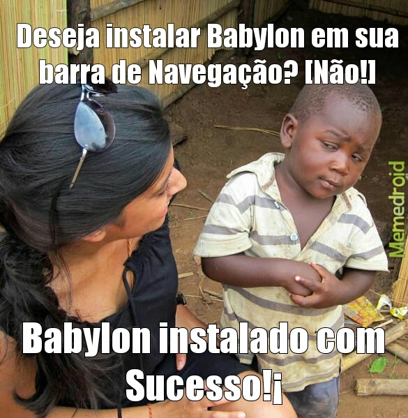 Maldito Babylon - meme