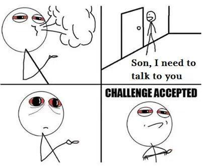 stoner challenge - meme