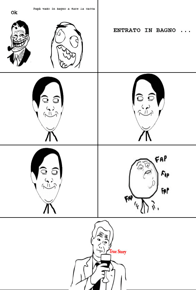 IN BAGNO - meme