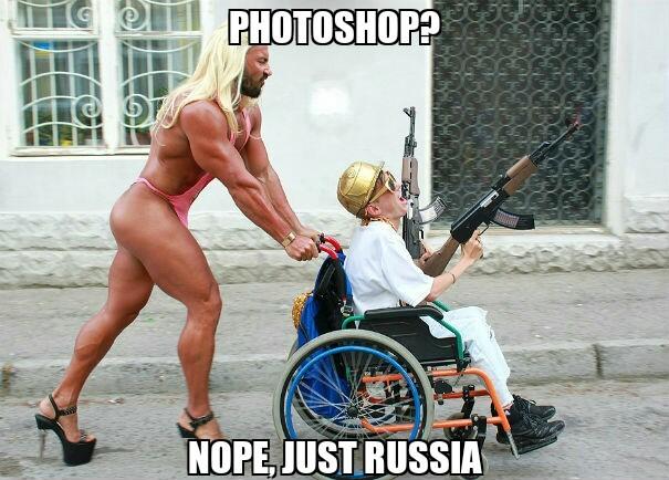 just russia - meme