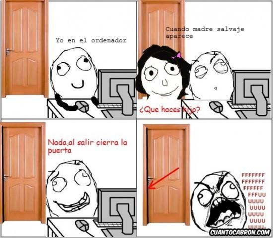 ¡Cierra la puerta! - meme