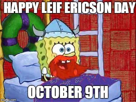 Hinga Dinga Durgen, I'm wearing a viking hat and ginger beard to school to celebrate - meme