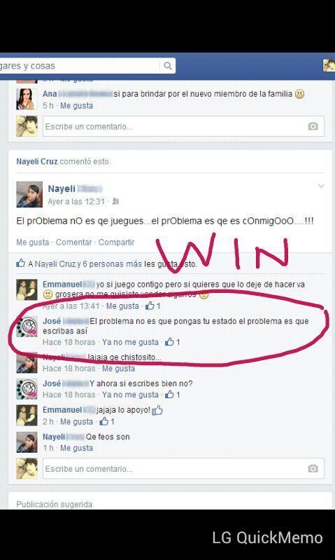 Facebook Win! - meme