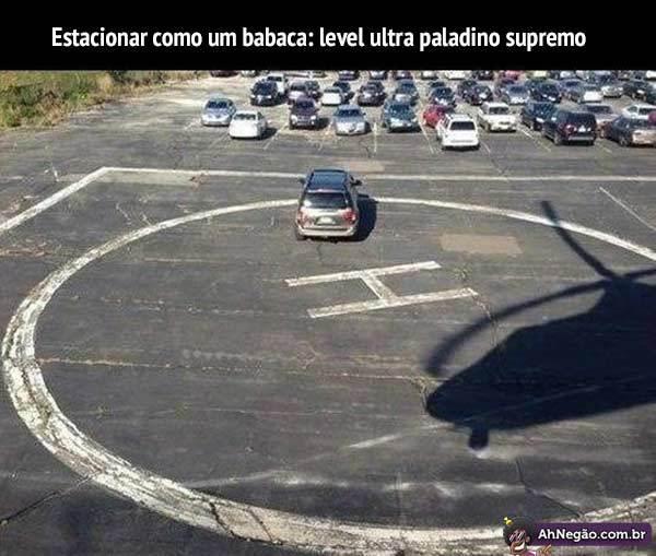 Estacionando Como Um Babaca - meme