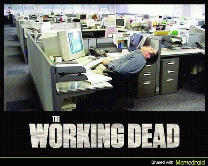 working dead - meme
