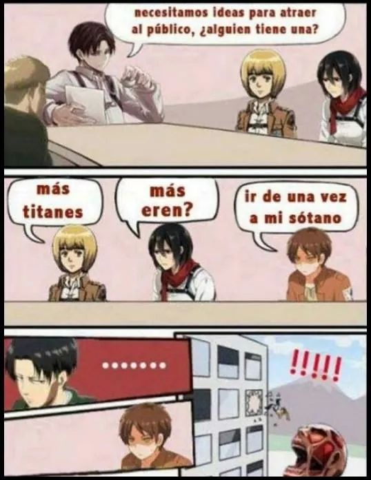 Pobre Eren, tenia razon :( - meme