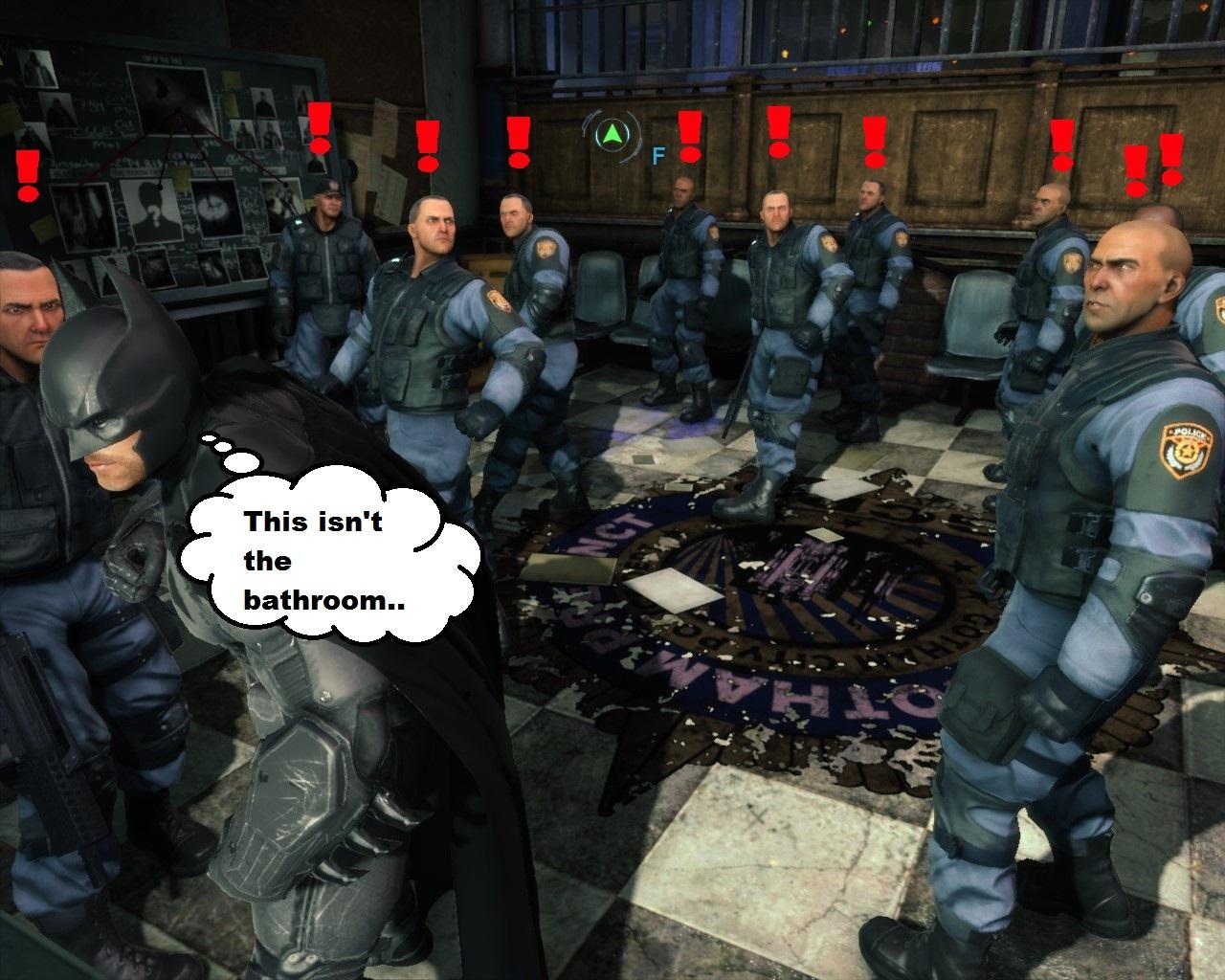 batman arkham origins - meme
