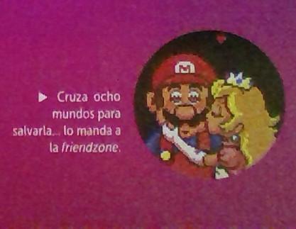 Foto sacada de la Club Nintendo - meme