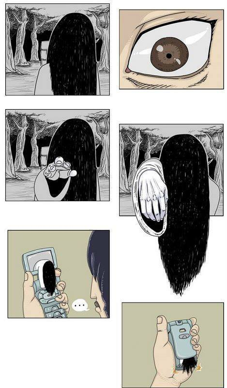 The Ring or The Grudge? - meme