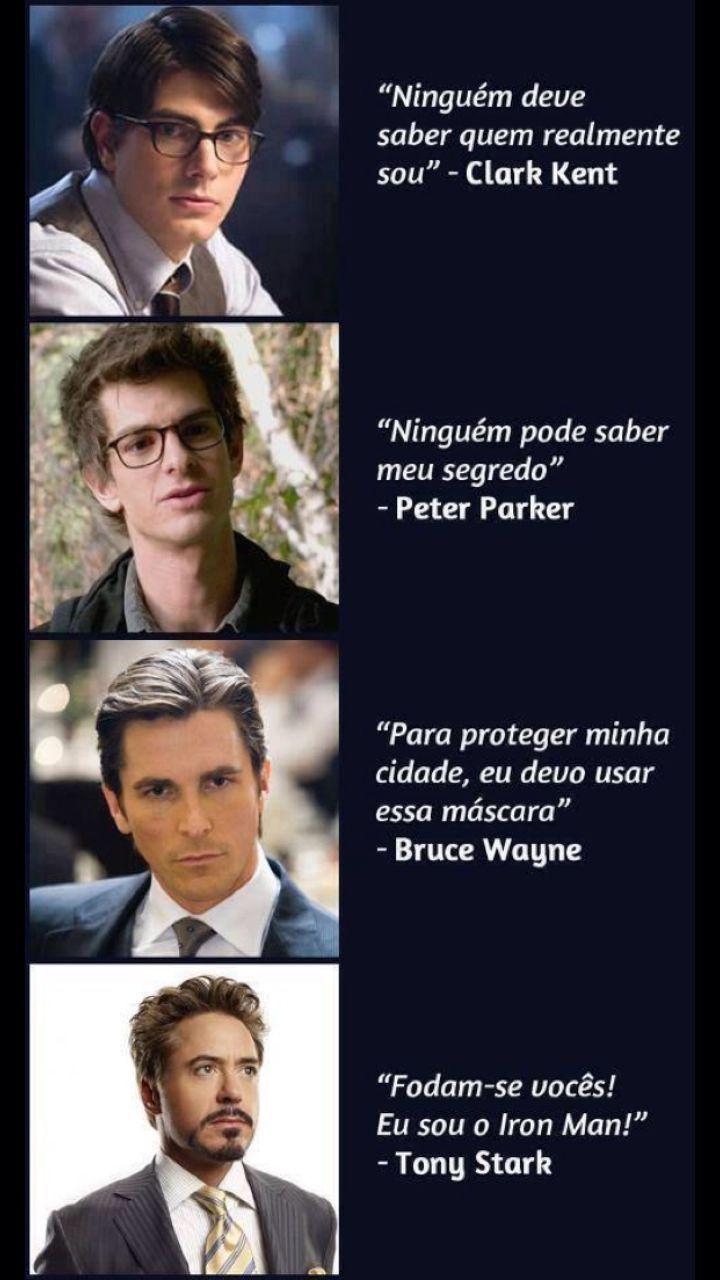 Eu sou Tony Stark - meme