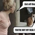 Kitty so dramatic