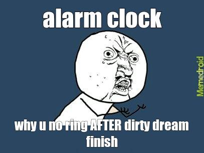 troll alarm clock - meme