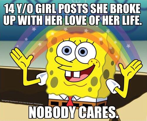 Facebook </3 - meme