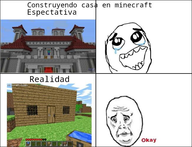Casas en minecraft memedroid - Fotos de casas del minecraft ...