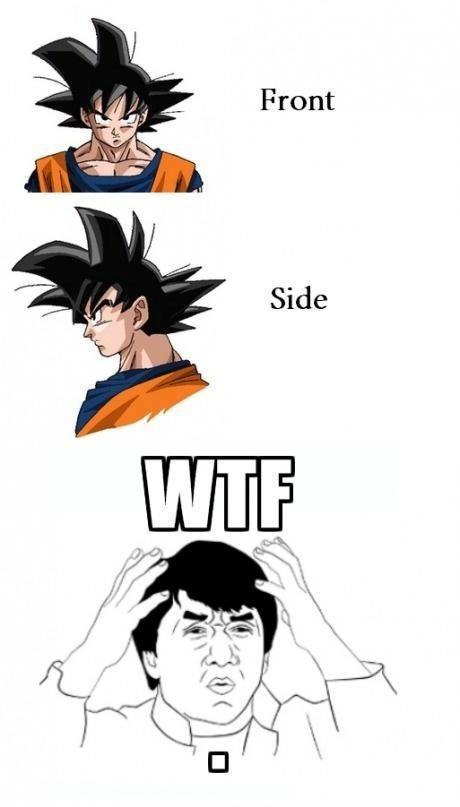 Goku S Hair Meme By Queen Amidala Memedroid