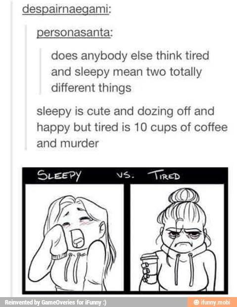 sleepy is adorable - meme