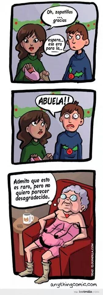 la abuela. - meme