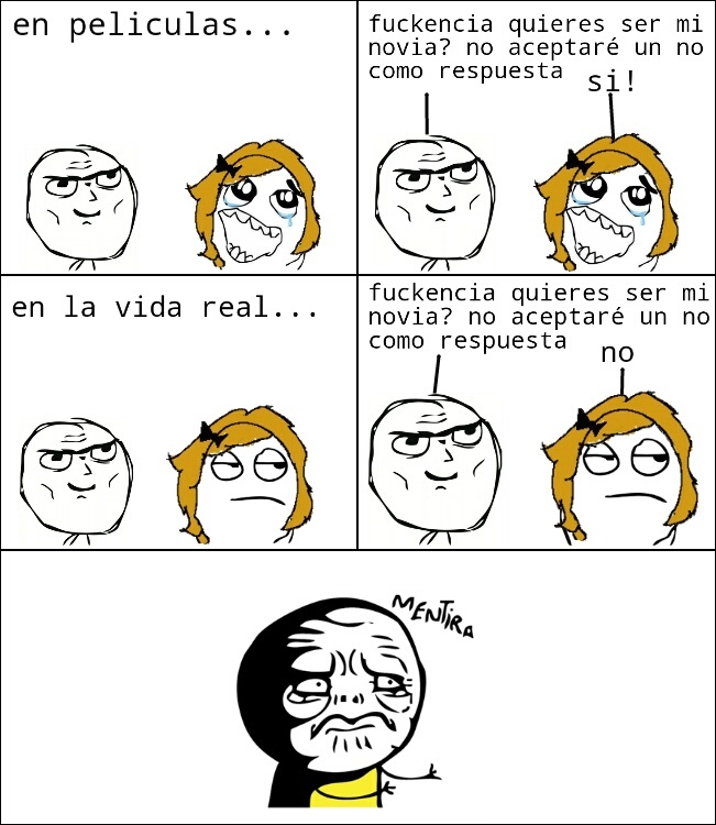 mentira! - meme