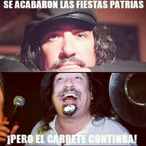 solo los chilenos lo sabran - meme