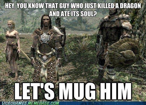 Bandit logic - meme