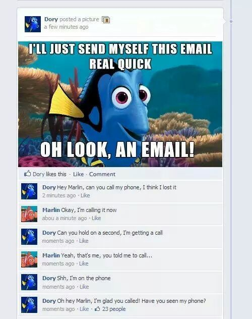 Typical Dory - meme