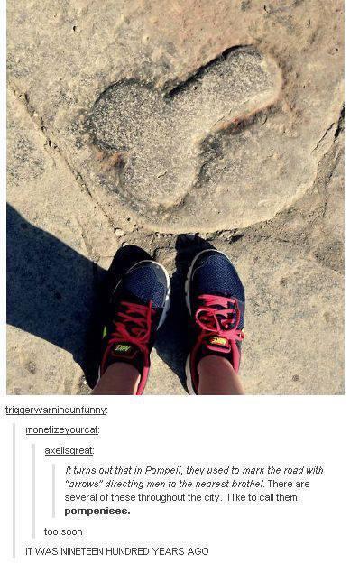 Pompeii - meme
